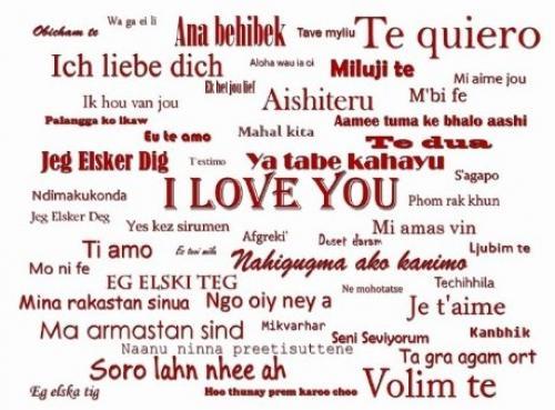 Я тебя люблю на всех языках мира вк. Фраза «Я тебя люблю» на всех языках мира