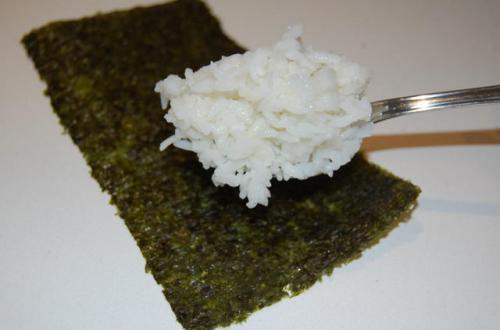 Рис для суши без уксуса.