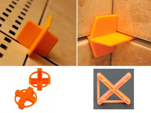 Шнур для укладки плитки вместо крестиков. Пластиковые крестики