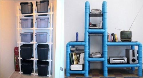 Поделки из полипропиленовых труб своими руками. Обновляем интерьер экономно: мебель из пластиковых труб
