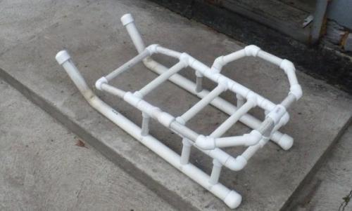 Что можно сделать из полипропиленовых труб своими руками. Поделки из пластиковых труб для детской площадки