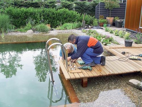 Строительство прудов и водоемов своими руками