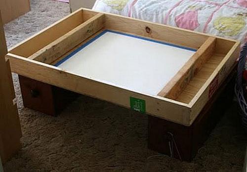 Стол для рисования песком своими руками 95