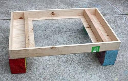 Как сделать стол для рисования песком своими руками