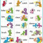 Глаголы английского языка.