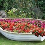 Лодки: новые идеи для сада!