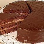 """Рецепт торта """"Прага"""" или пражского торта."""