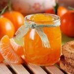 Рецепт ароматного варенья из мандаринов?