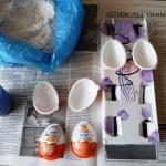 Мк по созданию яиц - магнитов к пасхе.