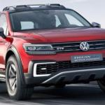 Дебют гибридного кроссовера Volkswagen Tiguan GTE Active Concept.