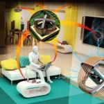 В России ученые эффективнейшую систему передачи энергии по воздуху создали.