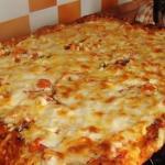 Быстрая и вкусная пицца.