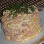 Быстрый и вкусный салат.