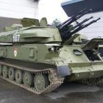 """ЗСУ-23-4 """"Шилка"""".  ЗСУ-23-4 """"Шилка"""" (индекс грау - 2 а 6) - советская зенитная самоходная установка, серийное производство начато в 1964 году."""