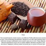 Рецепты ароматного чая.