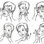 Как делать массаж лица и шеи в домашних условиях.