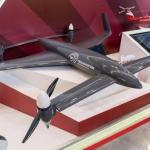 Российский дрон - конвертоплан RHV - 35 развивает скорость до 140 км/ч.