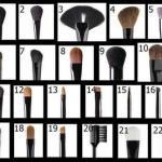Полное описание кистей для макияжа.