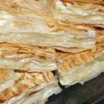 Сырный пирог из армянского лаваша.