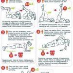 Как убрать живот: 5 упражнений для идеального пресса.