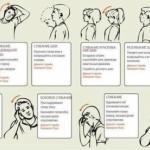 8 упражнений против шейного остеохондроза.