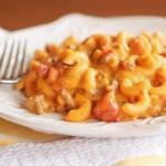 Очень вкусные макароны с фаршем и сыром!