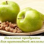 Полезные продукты для щитовидки?