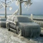 Что не стоит делать с машиной в мороз.