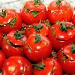 Малосольные помидоры по армянски.