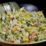Подборка салатов с кукурузой?
