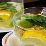 Имбирный чай для похудения и снижения аппетита.