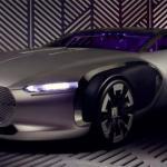 Renault показала оригинальный концепт - кар Coupe Corbusier.