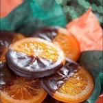 Карамелизованные апельсины в шоколаде - украшение вашего стола.