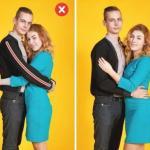 10 трюков, которые помогут избежать самых популярных ошибок при съемке пары в привычных позах.
