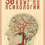 Топ 50 книг по психологии. Топ - 50 великих книг по психологии.