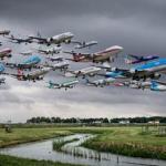 Американский фотограф Майк келли на протяжении двух лет работал над серией снимков Airportraits.