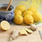 """Смесь для иммунитета """"Имбирь - Лимон - мед""""."""