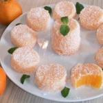 Мандариновый лукум - необычный рецепт домашнего десерта.