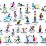 Глаголы движения и действия на английском.