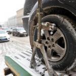 Новость дня!   В РФ вступил в силу запрет на использование летних шин зимой.