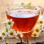 Как приготовить вкусный ромашковый чай.